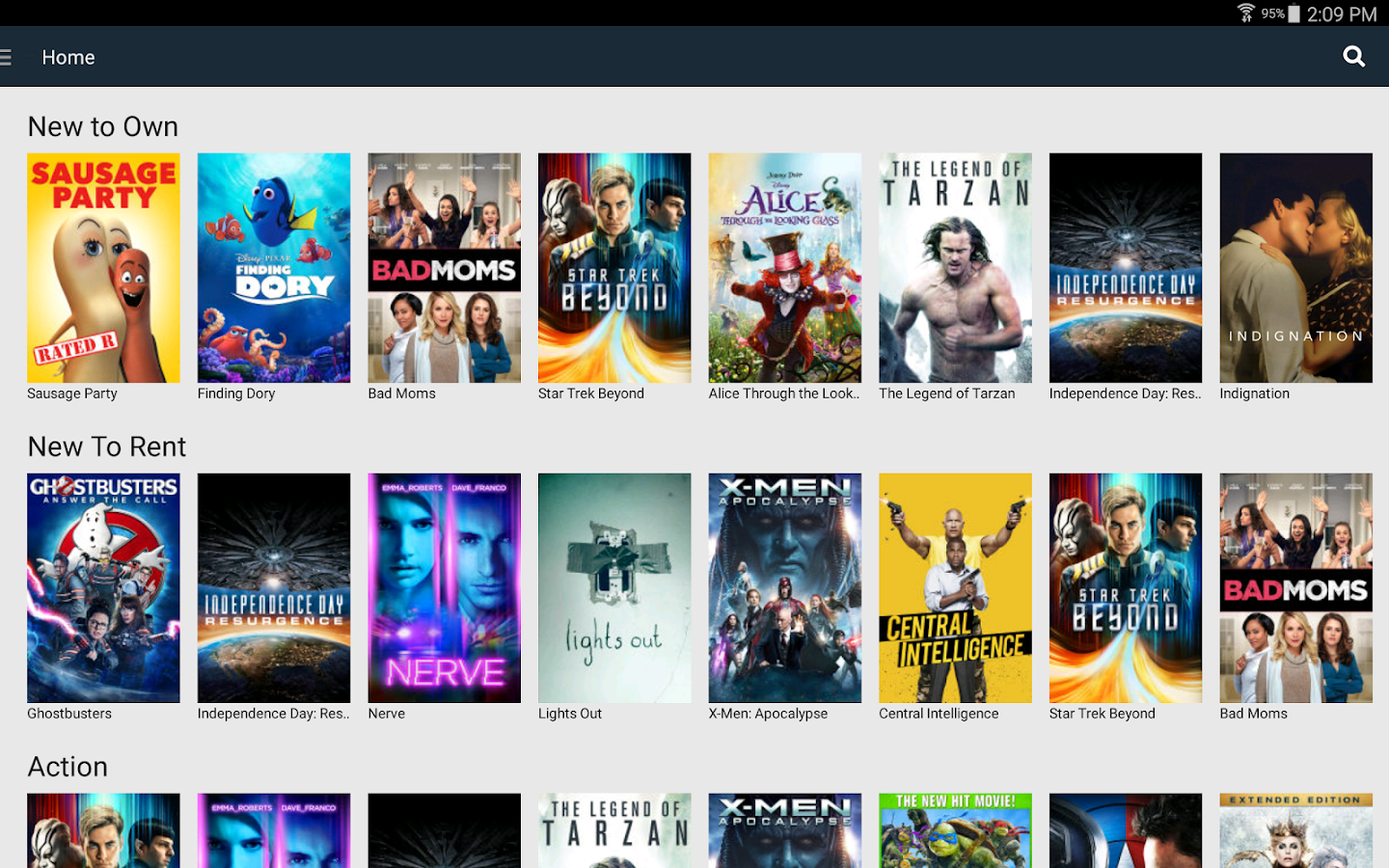 Cineplex Store- screenshot