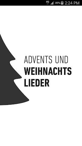 android Advents- und Weihnachtslieder Screenshot 0