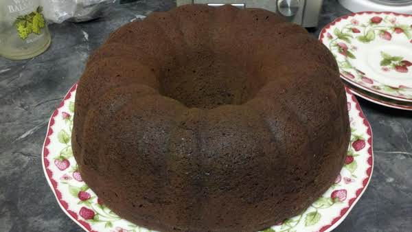 Devil's Food Pound Cake Recipe