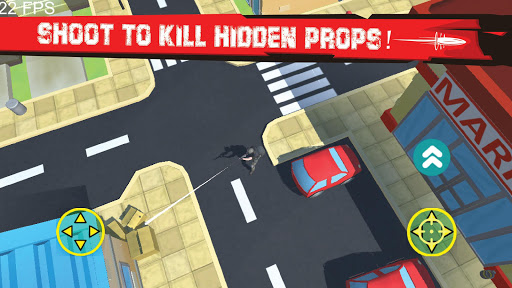 Hunt Props - Mobile TPS Shooter  captures d'écran 2