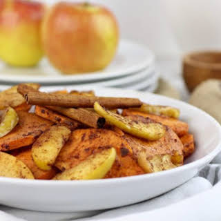 Cinnamon Sweet Potato Apple Bake.