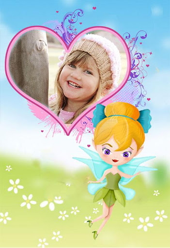 Fairy Princess Photo Frame