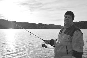 Photo: På fisketur, Vean, 27. juli 2013