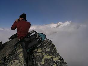 Photo: Miles on the ridge