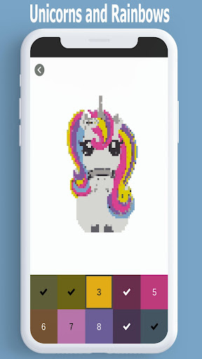 Download Unicorn Color By Number Pixel Art Coloring Game Free For Android Unicorn Color By Number Pixel Art Coloring Game Apk Download Steprimo Com
