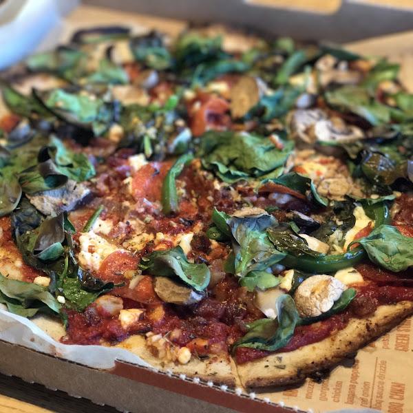 Delicious Glenn free pizza