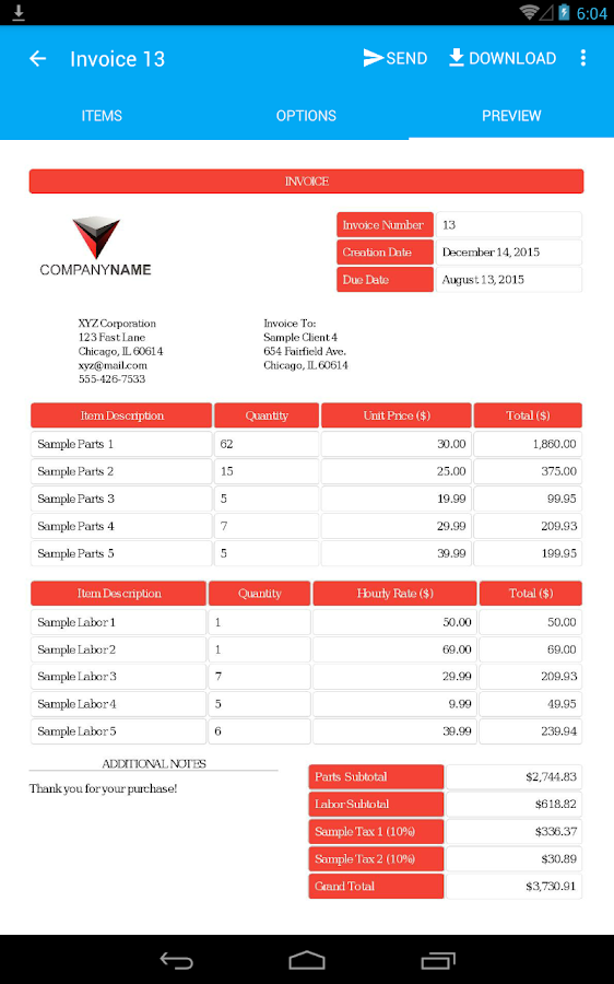 Invoice Maker Pro- screenshot