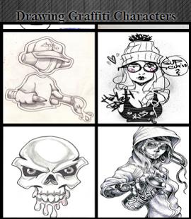 Kreslení graffiti znaků - náhled
