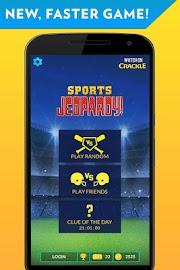 Sports Jeopardy! Screenshot 1