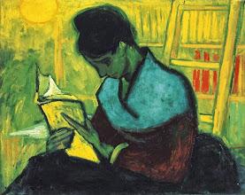 """Photo: Vincent Van Gogh, """"Una lettrice"""" (1888)"""