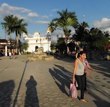 Photo: Copan's town square.