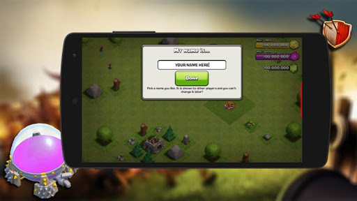 Cheat For Clash Of Clans-Prank for PC