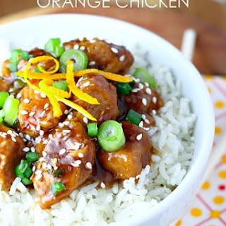 Easy Slow Cooker Orange Chicken.