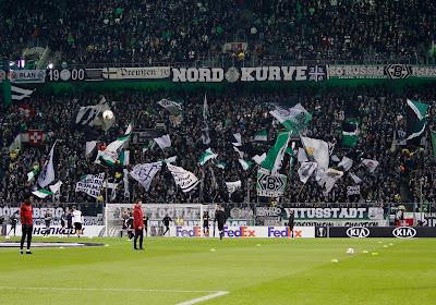 Borussia Mönchengladbach speelt dit weekend voor 20.000 supporters... van karton