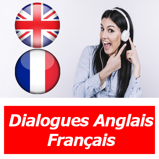 dialogues anglais français quotidien audio texte Icon