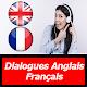 dialogues anglais français quotidien audio texte apk
