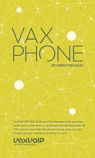 VaxPhone - VoIP SIP Softphone- screenshot thumbnail