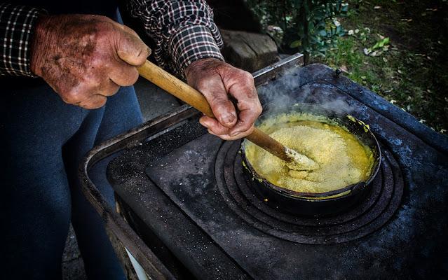 Sempre buona la polenta di Moreno re