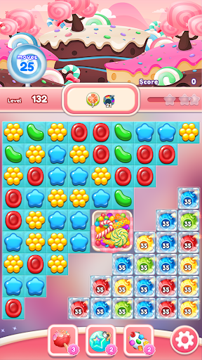 Crush the Candy: #1 Free Candy Puzzle Match 3 Game 1.0.5 screenshots 7