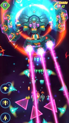 HAWK: Jogo de tiro espacial. Sky force screenshot 8