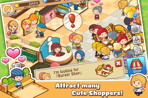 Happy Mall Story: Sim Game screenshot 1