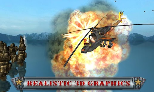Military Helicopter 3D- screenshot thumbnail