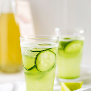 Cucumber and Ginger Fizz.