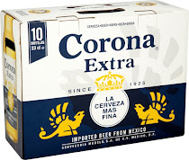 Corona Extra Lager Beer - 330ml, 10pcs