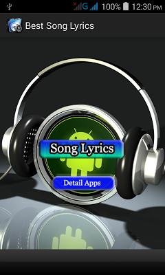 Best Song Lyrics 2015 - screenshot
