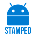 Stamped Blue Icons icon