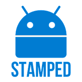 Stamped Blue Icons