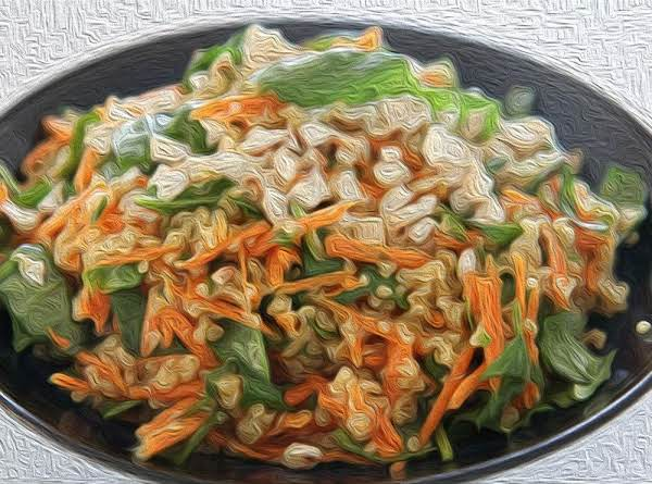 Vegan Quinoa Pilaf Side Dish Served Chilled Recipe