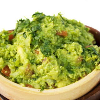 Avocado and Edamame Guacamole - ⅓ the Fat & 5X the Protein!.