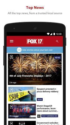 FOX 17 - screenshot
