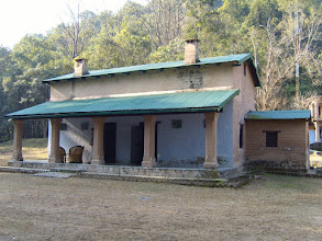 Photo: An old forest ranger's accommodation within the national park