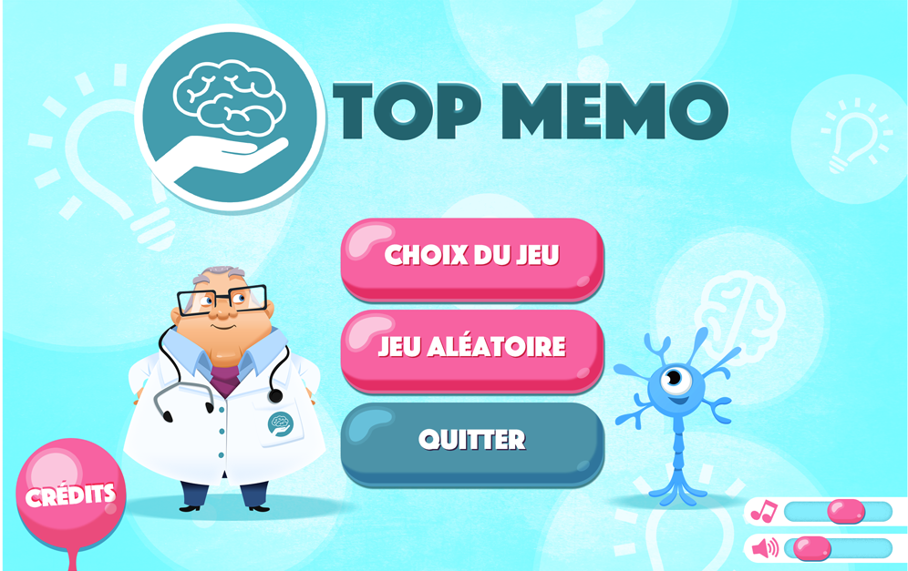 Top Memo - Brain training (Unreleased) – Capture d'écran
