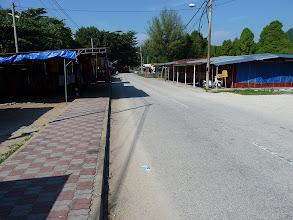 Photo: Pulau Pangkor - Teluk Nipah deserted stalls at main road