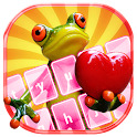Funny Frog Keyboard Themes icon
