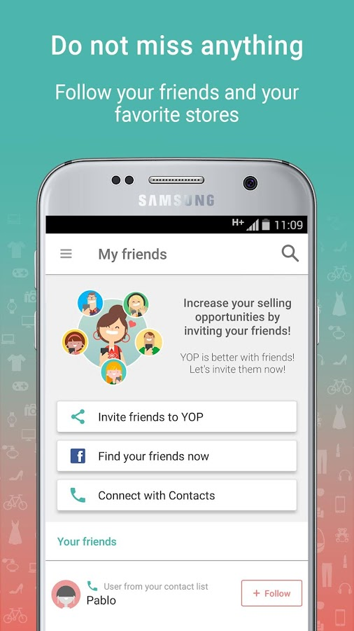 YOP: Sell & Buy in your mobile marketplace- screenshot