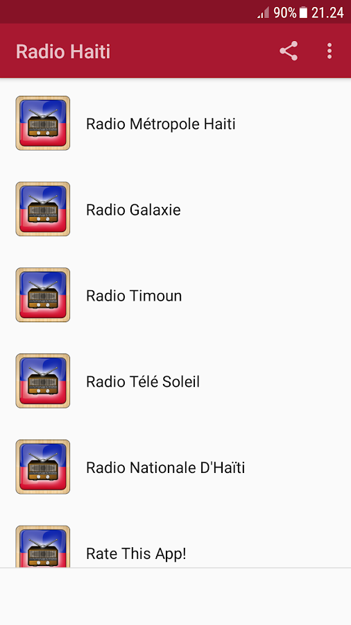 Radio Haiti- screenshot