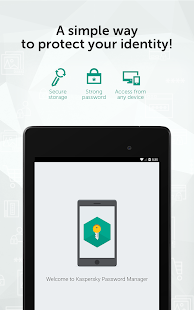 Kaspersky Password Manager & Secure Wallet Keeper- screenshot thumbnail