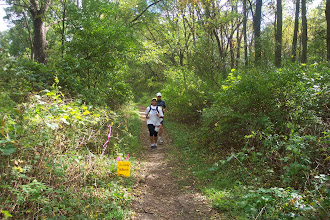 Photo: Mile 87 with pacer wife.