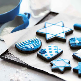 Hanukkah Cookies.