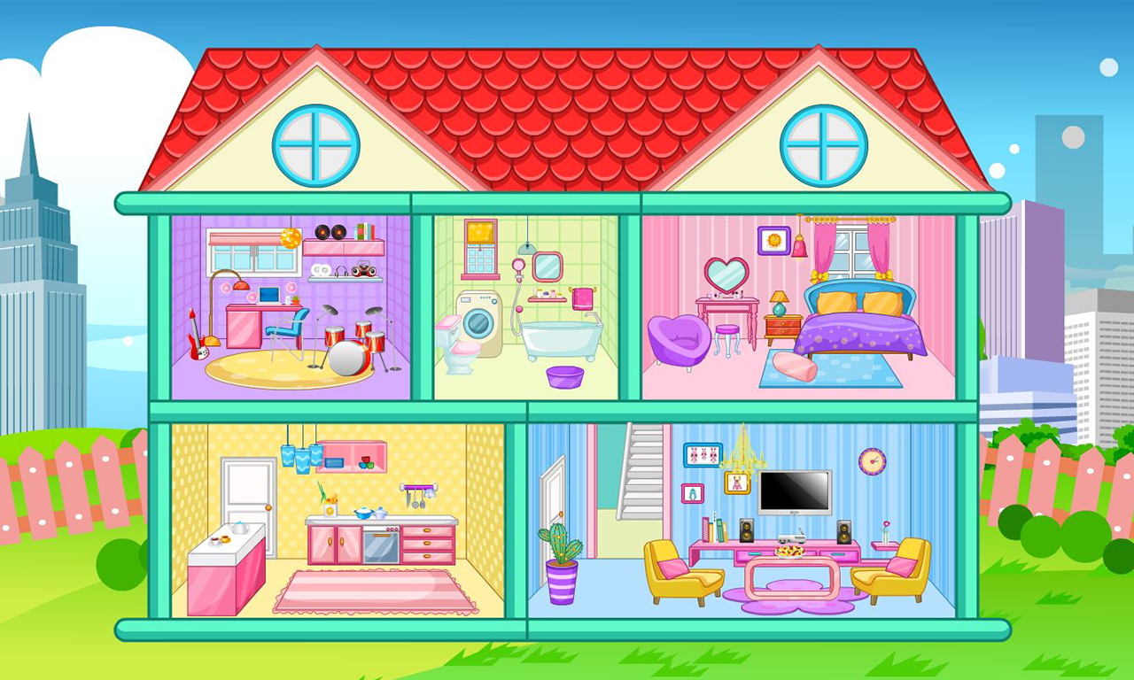 Doll House Decoration Game Screenshot