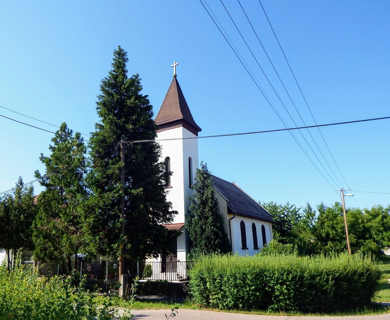Tatabánya - evangélikus templom