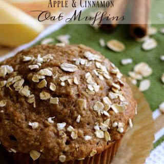 Apple & Cinnamon Oat Muffins