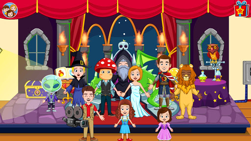 My Town : Cinema. Fun Movistar Kids Movie Night  screenshots 6