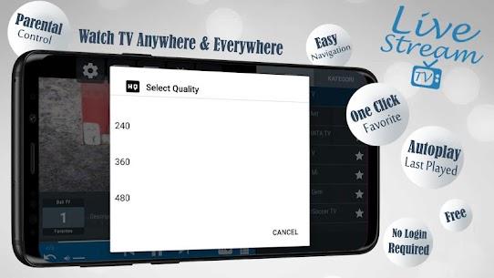 Descargar Livestream TV – M3U Stream Player IPTV para PC ✔️ (Windows 10/8/7 o Mac) 2