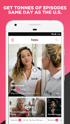 hayu - watch & download reality TV shows on demand 1.3.8 gameplay | AndroidFC 1