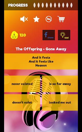 Finish The Lyrics - Free Music Quiz App 3.0.0 screenshots 13